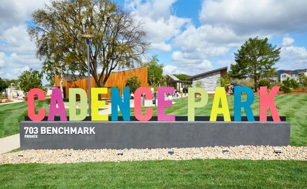 Cadence_Park_Opening_Cadence Park Sign